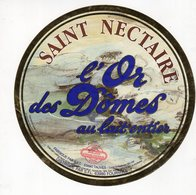 Jan20   86869  étiquette Saint Nectaire   L'or Des Dômes - Formaggio