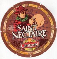 Jan20   86868  étiquette Saint Nectaire   Cantorel - Cheese