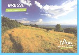 L'Ain-Bresse-Mon Luxe Au Naturel-Ligne D'horizon Depuis Le Mont-Myon (Revermont) - France