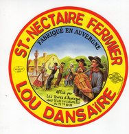 Jan20   86862  étiquette Saint Nectaire    Lou Dansaire  Besse En Chandesse - Cheese