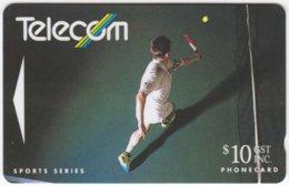 NEW ZEALAND A-612 Magnetic Telecom - Sport, Tennis - 111CO - Used - Nuova Zelanda