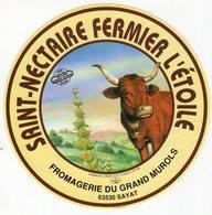 Jan20   86865   étiquette Saint Nectaire  L'étoile   Sayat - Formaggio