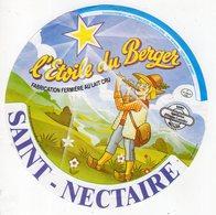 Jan20  86866    étiquette Saint Nectaire  L'étoile Du Berger     St Mamet - Cheese
