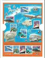 BF N° 47** NSC Dans Sa Pochette (2002) Transports - Blocs & Feuillets