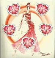 BF N° 54** NSC (2003) Saint Valentin Coeurs De Torrente - Blocs & Feuillets