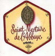 Jan20 86871  étiquette Saint Nectaire De L'abbaye   Condat En Feniers - Cheese