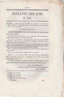 Bulletin Des Lois 760 De 1840 Appel à Activités Jeunes Soldats 2 ème Portion Classe 1835 Et Classe 1834 - Décrets & Lois