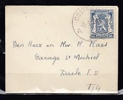 Brief Van Oostkamp A - 1935-1949 Petit Sceau De L'Etat