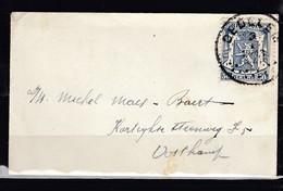 Brief Van Oedelem Naar Oostkamp - 1935-1949 Petit Sceau De L'Etat