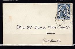 Brief Van Oostkamp Naar Oostkamp - 1935-1949 Petit Sceau De L'Etat