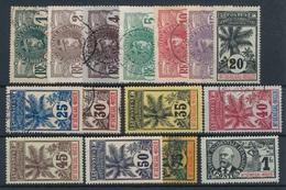 DI-162: HAUT SENEGAL ET NIGER:  Lot Avec N°1/15*/obl - Upper Senegal And Nigeria (1904-1921)