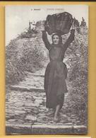 C.P.A. Femmes Corses - J.Moretti - Personaggi