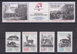 D108/ N° 2538A/2542 NEUF** COTE 11.20€ - France