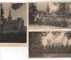 +3519, 3 FOTO-AK, WK II, Schloss Moyland Ist Ein Wasserschloss Bei Bedburg-Hau Im Kreis Kleve, - Kleve