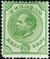 CURACAO, ANTILLE OLANDESI, NETHERLANDS ANTILLES, 1873, 2,50 C., NUOVO(MLH*)  5,50) Mi:NL-CW 1,Scott:AN 1,Yt:AN 1 - Curaçao, Antille Olandesi, Aruba
