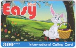 THAILAND F-074 Prepaid Easy - Cartoon, Animal, Rabbit - Used - Thaïland