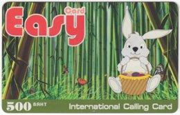 THAILAND F-075 Prepaid Easy - Cartoon, Animal, Rabbit - Used - Thaïland