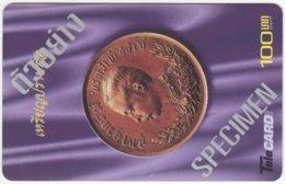 THAILAND F-112 Prepaid TeleCard - Collection, Coin - Specimen - Thaïland