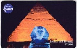 THAILAND F-387 Chip TOT - Landmark, Pyramid, Sphinx - Used - Thaïland