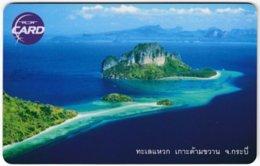 THAILAND F-391 Chip TOT - Landscape, Coast - Used - Thaïland