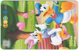 THAILAND F-772 Prepaid 1-2-Call - Walt Disney, Duck Family - Used - Thaïland