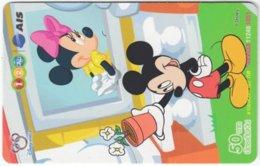 THAILAND F-779 Prepaid 1-2-Call - Walt Disney, Mouse Family - Used - Thaïland