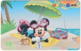 THAILAND F-781 Prepaid 1-2-Call - Walt Disney, Mouse Family - Used - Thaïland
