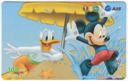 THAILAND F-782 Prepaid 1-2-Call - Walt Disney, Mouse Family - Used - Thaïland