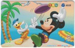 THAILAND F-787 Prepaid 1-2-Call - Walt Disney, Mouse Family - Used - Thaïland