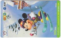 THAILAND F-790 Prepaid 1-2-Call - Walt Disney, Mouse Family - Used - Thaïland