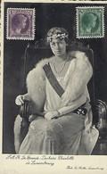 Luxembourg  -  25-16 Luillet 1937 - Postmarke Dudelange - S.A.R. Grande-Duchesse Charlotte De Luxembourg - Cartes Maximum