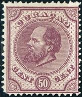 CURACAO, ANTILLE OLANDESI, NETHERLANDS ANTILLES, 1873, 50 C., NUOVO (MLH*) (2,50) Mi:NL-CW 6,Scott:AN 6,Yt:AN 1, Sg:AN 6 - Curaçao, Antille Olandesi, Aruba
