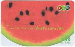 THAILAND F-818 Prepaid 1-2-Call - Food, Vegetable, Watermelon - Used - Thaïland