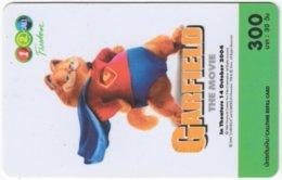 THAILAND F-819 Prepaid 1-2-Call - Cinema, Garfield - Used - Thaïland