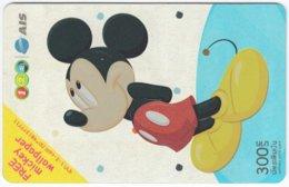 THAILAND F-820 Prepaid 1-2-Call - Walt Disney, Mickey Mouse - Used - Thaïland