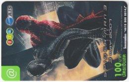 THAILAND F-827 Prepaid 1-2-Call - Cinema, Spiderman 3 - Used - Thaïland