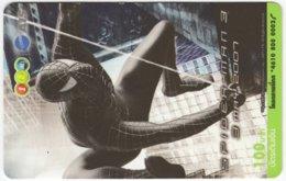 THAILAND F-828 Prepaid 1-2-Call - Cinema, Spiderman 3 - Used - Thaïland