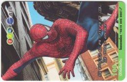 THAILAND F-830 Prepaid 1-2-Call - Cinema, Spiderman 3 - Used - Thaïland
