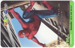 THAILAND F-832 Prepaid 1-2-Call - Cinema, Spiderman 3 - Used - Thaïland
