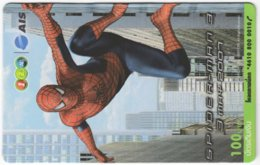 THAILAND F-833 Prepaid 1-2-Call - Cinema, Spiderman 3 - Used - Thaïland
