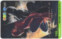 THAILAND F-834 Prepaid 1-2-Call - Cinema, Spiderman 3 - Used - Thaïland