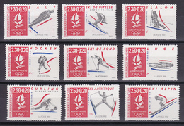 D108/ LOT ALBERVILLE 1992 NEUF** COTE 11.50€ - Frankrijk
