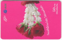 THAILAND F-836 Prepaid 1-2-Call - Plant, Flower - Used - Thaïland