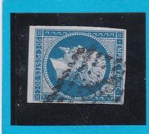 N° 14 A  PC 1818   LYON  ( 68 ) RHONE   - REF 12914 - Planché 97G1 - 1853-1860 Napoléon III.