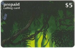 USA C-489 Prepaid  - Cinema, Walt Disney, Jungle Book (Puzzle 1 Of 2) - FAKE - Vereinigte Staaten