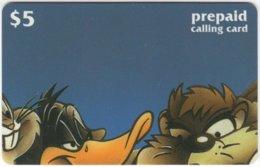 USA C-502 Prepaid  - Cinema, Tiny Toons (Puzzle 2 Of 4) - FAKE - Vereinigte Staaten