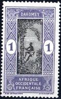 DAHOMEY, 1913, 2 C., FRANCOBOLLO NUOVO (MLH*) Mi:DY 42, Scott:DY 42, Yt:DY 43 - Benin – Dahomey (1960-...)