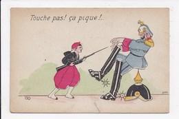 """CP MILITARIA """"Touche Pas! ça Pique"""" - Humor"""