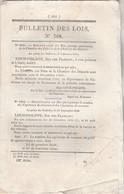 Bulletin Des Lois 768 De 1840  Pont Sur La Marne à Champigny Seine  Avec Tarifs Péage - Décrets & Lois