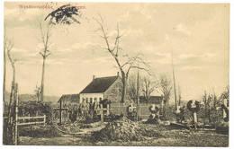 WESTROZEBEKE  Duits Militair Kerkhof - Staden